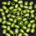 Beads, Acrylic, Olive, Cylindrical, 9mm x 7mm x 7mm, 8g, 40 Beads, (SLZ0203)